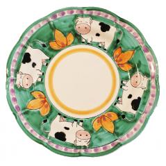 piatto mucca