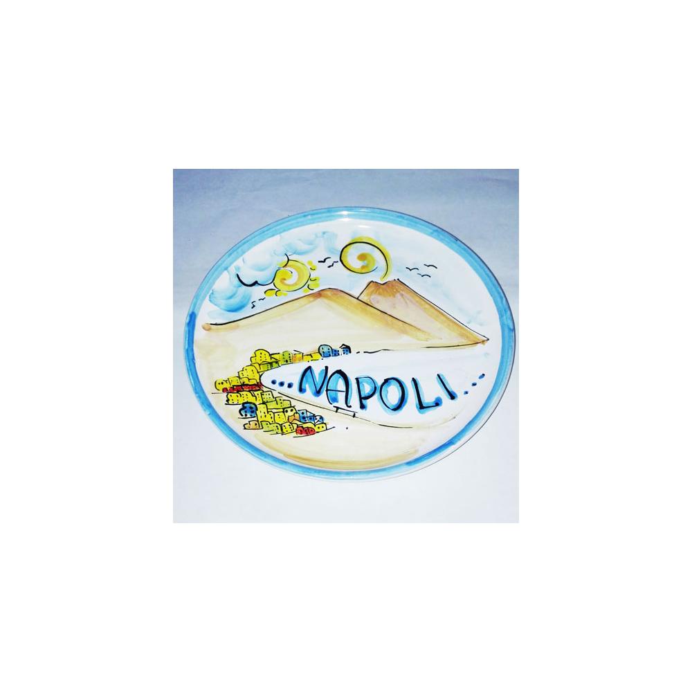 piatto da muro Napoli