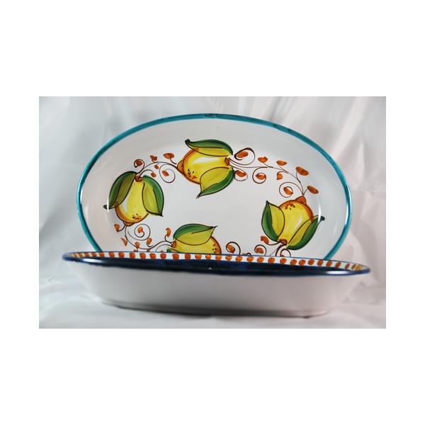 piatto ovale alto cm 39