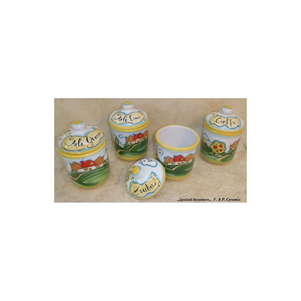 Set of 4 jars