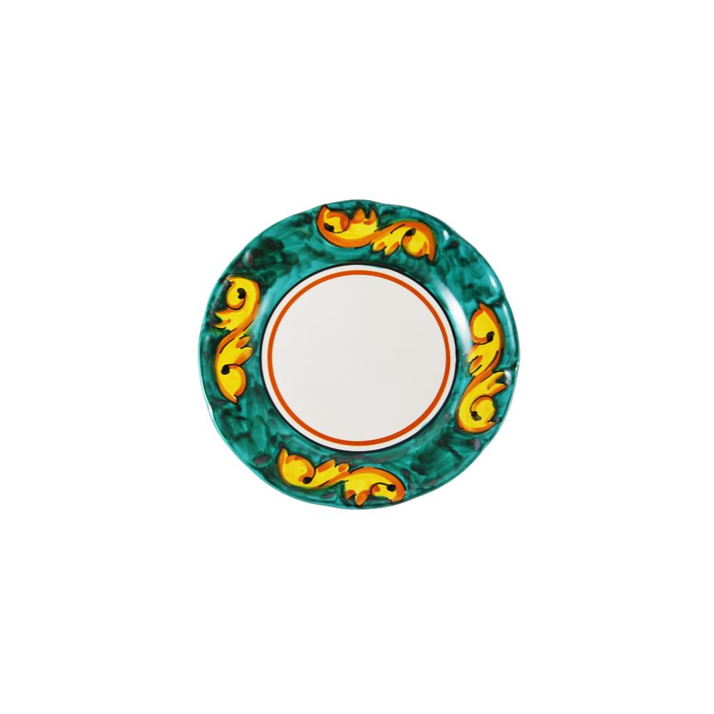 Plate barocco design